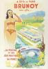 [Brunoy] Affiche de la piscine : [Reproduction en carte postale d'une affiche], éditions Musée municipal R. Dubois-Corneau, [années 2000] - image/jpeg