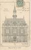 Corbeil, Hôtel de ville : [dessin de la façade de la mairie], éditions Lemaire, [1903] - image/jpeg