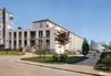 Draveil (Essonne) le centre administratif et la chapelle : arch. : MM. E. Beaudouin, D. Boulanger, R.G. Chevenot, J. Lhernau. editions CIM, [annnées 1960] - image/jpeg