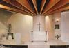 Epinay-sur-Orge, Le Mauregard, la chapelle Saint-Dominique Savio : Architecte Murat. Combier, 1969 - image/jpeg