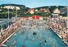 La Ferté-Alais, la piscine : architecte M. [G.] Coast. CIM, 1969 - image/jpeg