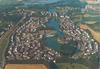 Breuillet (91650), Port Sud, vue panoramique : [vue aérienne]. Hélicolor France, [années 1980] - image/jpeg