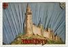 """[Montlhéry] Château féodal de Montlhéry d'après un dessin de N.R. Payen : 1 ère exposition de la carte postale """"l'âge d'or"""" 1900-1925. Syndicat d'initatiative de Monthléry, 1976 - image/jpeg"""