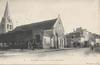 Athis-Mons (S. -et-O.), la place de l'église. Marquignon, [années 1900] - image/jpeg