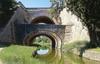 Juvisy [sur-Orge] (Essonne), L'Orge au Pont des Belles Fontaines. Duchateau photog., éditions raymon, [années 1980-1990] - image/jpeg