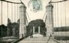 [Soisy -sur-Seine] Soisy-sous-Etiolles, Sur le pont suspendu. LJ.et Cie éditions [années 1900] - image/jpeg