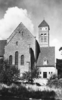 [Vauhallan] Abbaye Saint-Louis-du-Temple Limon, par Igny [S.-et-O.), le clocher. [SE] [années 1950] - image/jpeg