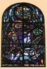 [Vauhallan] Abbaye Saint-Louis-du-Temple Limon, l'Annonciation : [Vitrail] . Wadoux, photog. Wadoo éditions |années 1990] - image/jpeg