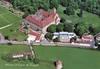 [Vauhallan] Abbaye Saint-Louis-du-Temple Limon, vue aérienne. Editions Waddo, [années 1990] - image/jpeg