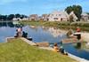 Breuillet (Essonne), Port-Sud, la petite écluse : arch. : A. et L. Guerra -Boulogne. CIM [années 1970-1980] - image/jpeg