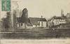 Juvisy sur-Orge, (S.-et-O.), l'église et Bassin circulaire du Parc avec très beau jet ; Marquignon, 1898 - image/jpeg